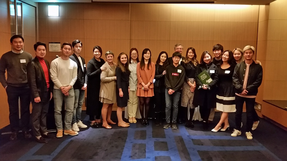 St. Johnsbury Academy (SJA) Alumni Gather in Seoul