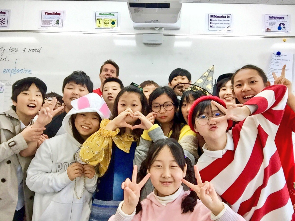 SJA Jeju Elementary School Celebrated March Reading Month