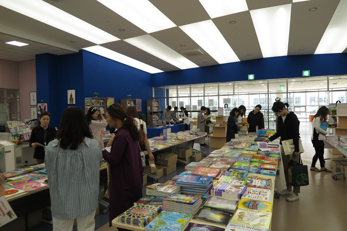The First Annual SJA Jeju Book Fair